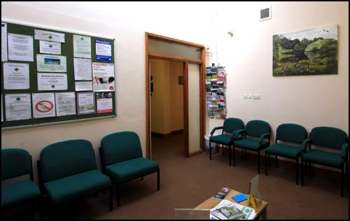 Arden Medical Centre waiting room 2
