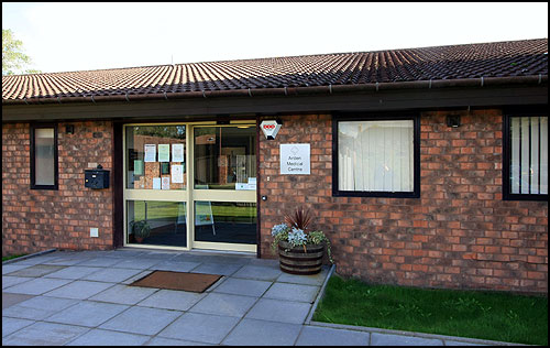 Arden Medical Centre entrance
